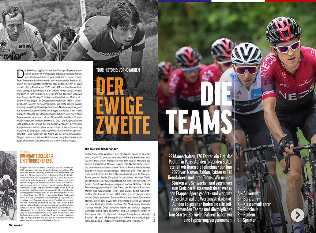 Tour de France 2020, Teams