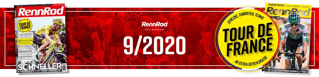RennRad 9/2020, Banner, Ausgabe