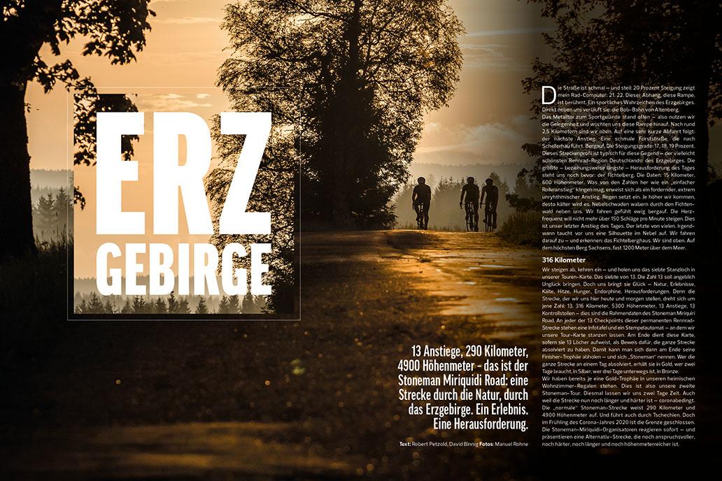 Erzgebirge, RennRad 10/2020