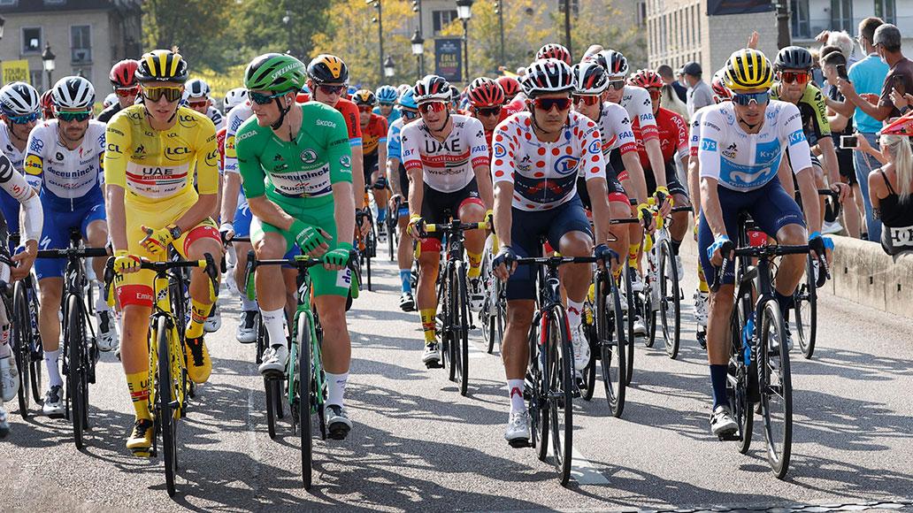 Tadej Pogačar, Tour de France 2020, Sam Bennett, Enric Mas, Richard Carapaz