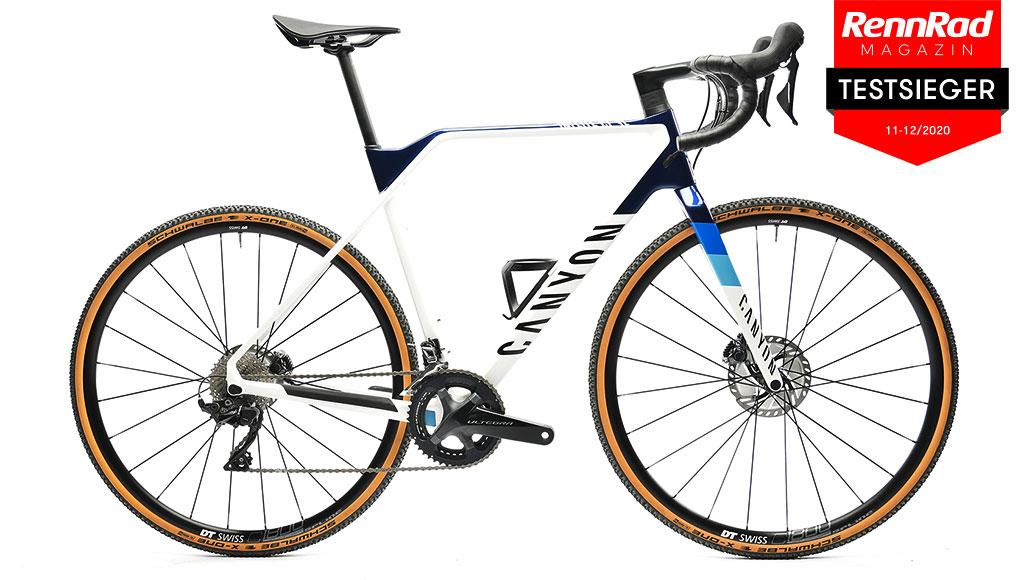 Canyon Inflite CF SL 7, Crossräder, Test