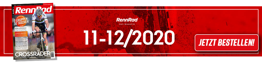 RennRad 11-12/2020, Banner, Cyclocross, Bikepacking, Gravel