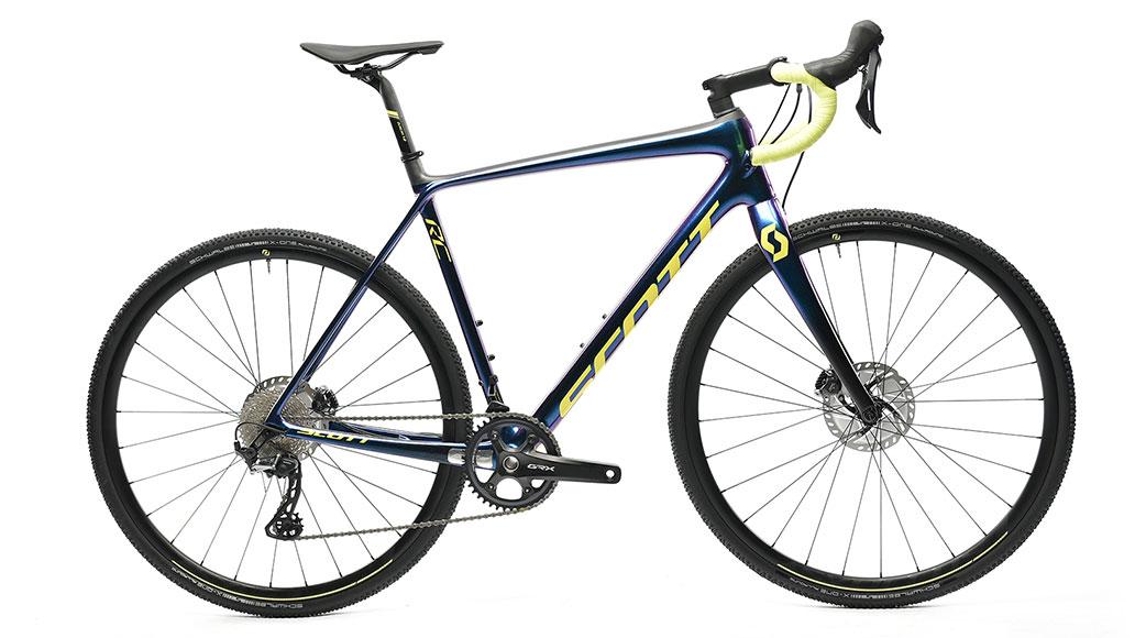 Scott Addict CX RC, Cyclocrosser, Test