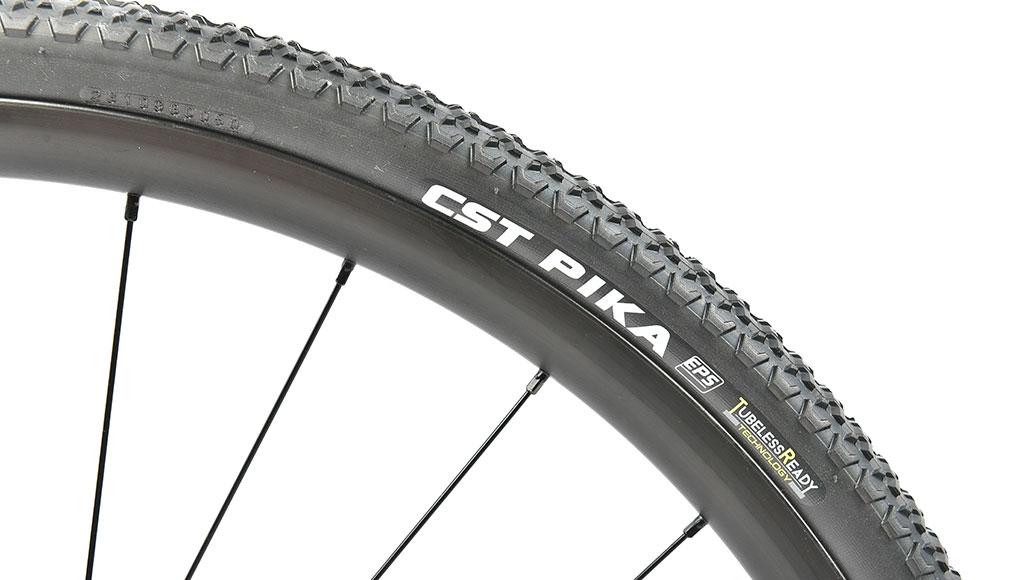 CST Pika, Gravel-Reifen, Test