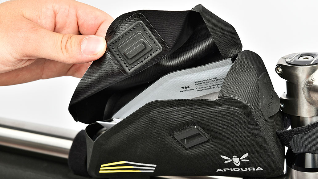 Apidura Racing Top Tube Pack, Test, Bikepacks