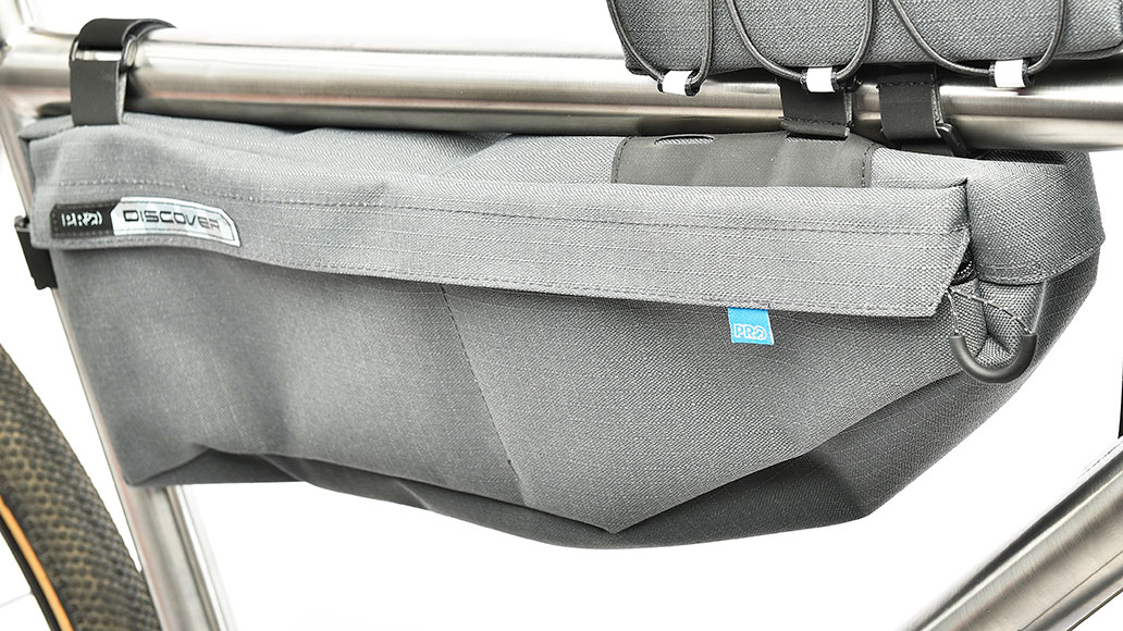 Pro Discover Frame Bag, Bikepacks, Test