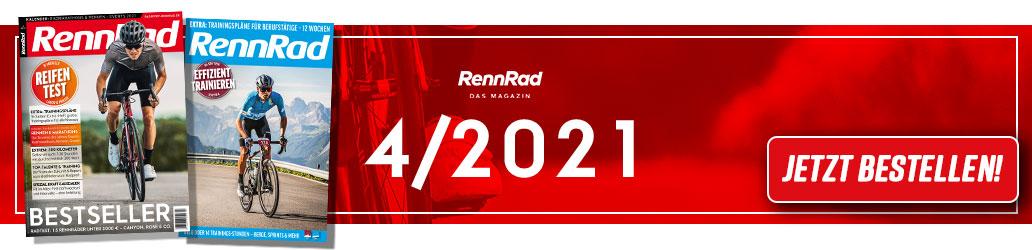 RennRad 4/2021, Banner