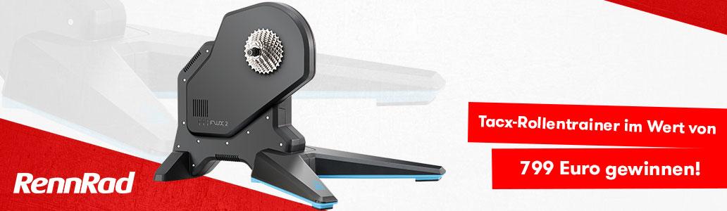 Tacx Flux 2 Smart, Smart-Trainer, Rollentrainer, Gewinnspiel, Verlosung