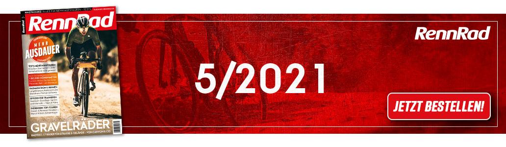 RennRad 5/2021, Banner