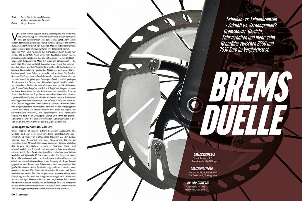 RennRad 6/2021, Heftinhalt, Ausgabe, Leseprobe
