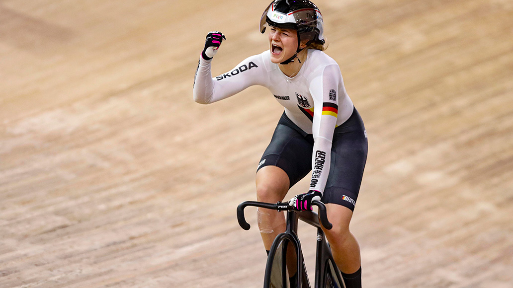 Lea Sophie Friedrich, Bahn-WM, Frauen