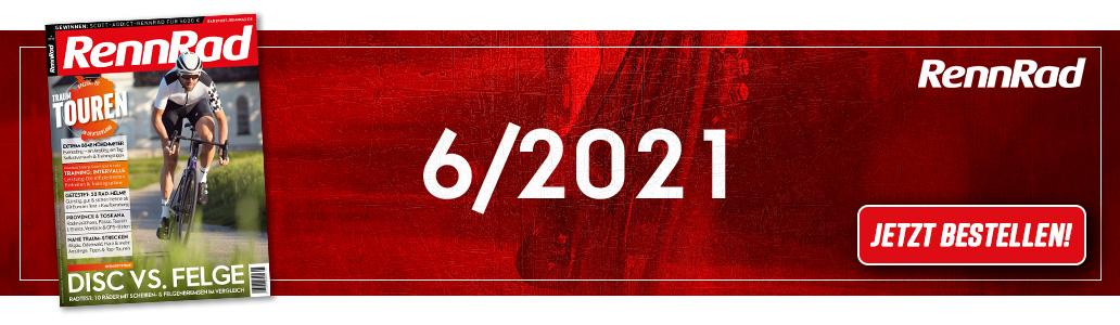 RennRad 6/2021, Banner, Ausgabe
