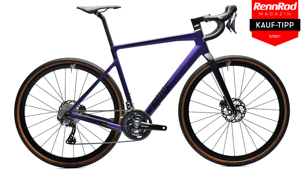 ROSE Backroad GRX RX810, Test, Gravelbikes