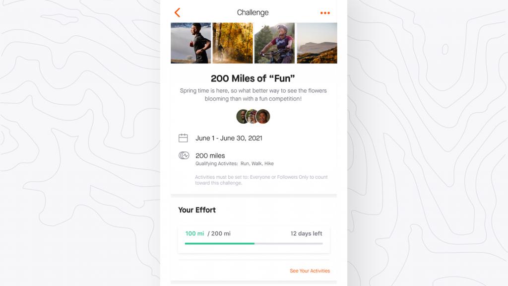 Strava-App: neue Group Challenges