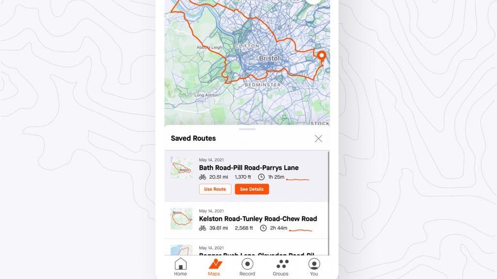 Strava: neue Routen-Funktionen in der App