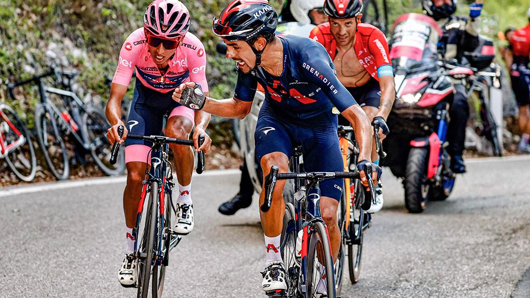 Egan Bernal, Giro d'Italia, Radsport