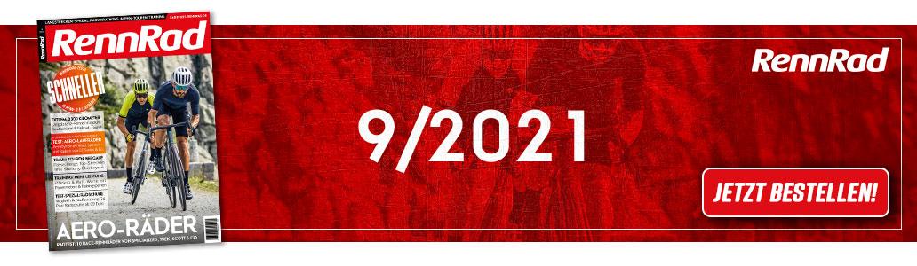 RennRad 9/2021, Banner